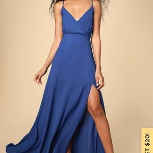 Lulus evening of splendor maxi dress